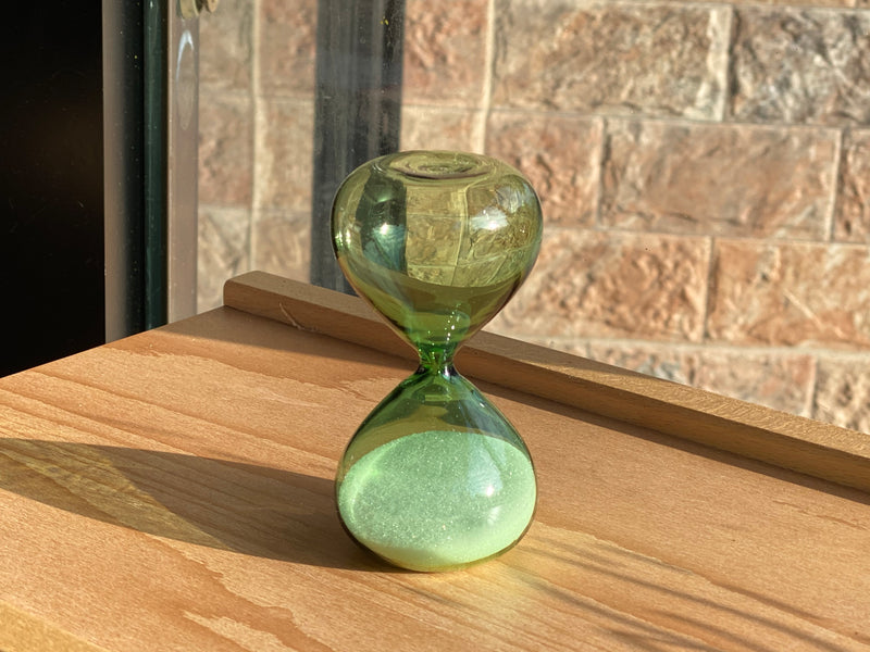 Hourglass - 5 Minutes - Green