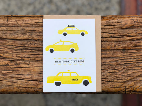 Taxi NYC Ride Card