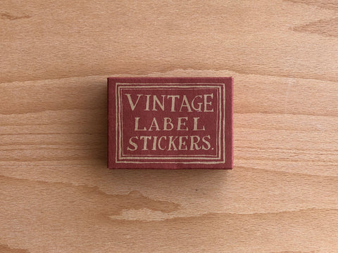 LCN Sticker Set - Red & Blue Label Stickers