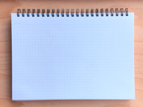 Mnemosyne Notebook - A5 - Grid