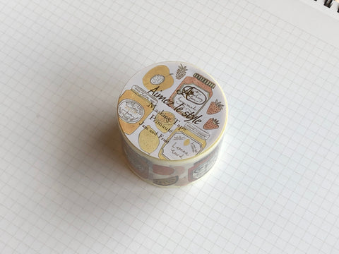 Masking Tape Washi - Jam and Fruit