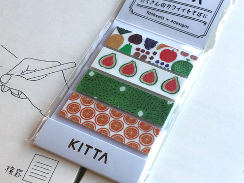 Kitta Portable Washi Tape - Fruits