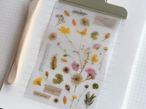 MU Print-On Stickers - Flower Diary - #103