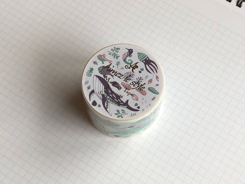 Masking Tape Washi - Sea Creatures