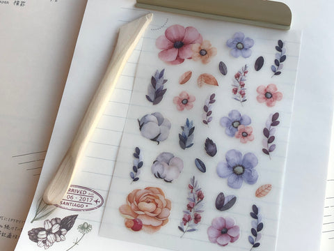 MU Print-On Stickers - Be Always Blooming - #40
