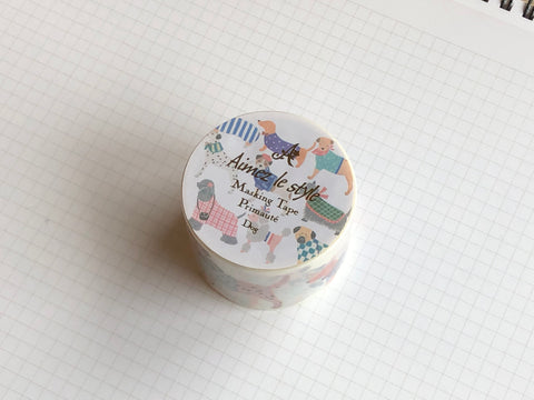 Masking Tape Washi - Dog