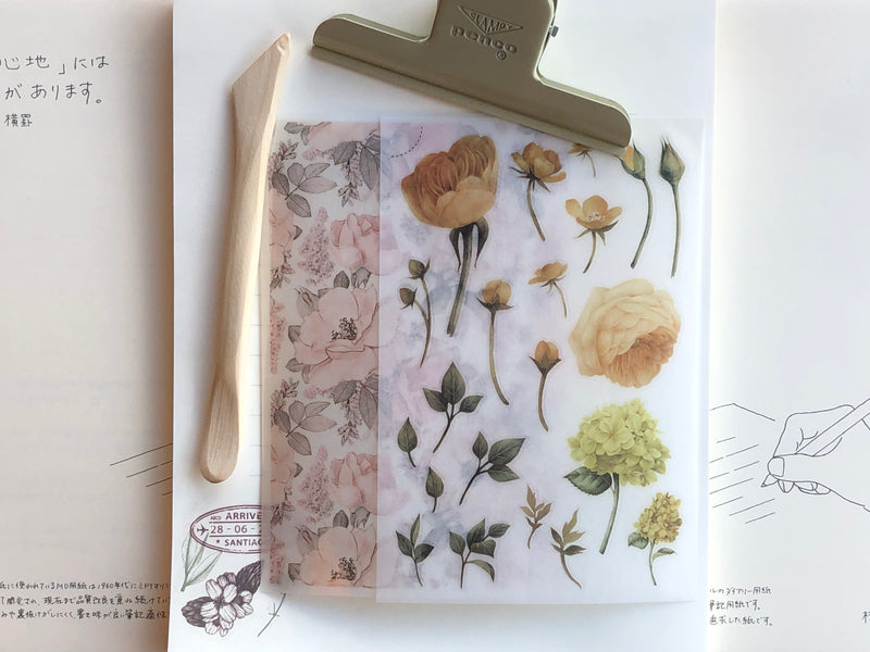 MU Print-On Stickers - Field of Anemones - #12