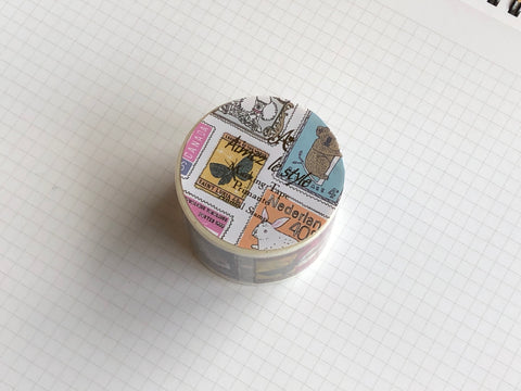 Masking Tape Washi - Animal Stamp