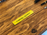 Wooden Ruler - 15cm - Yellow