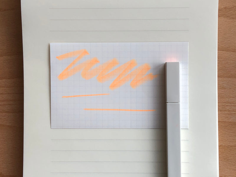 Kokuyo PASTA Soft Marker - Fluorescent Orange