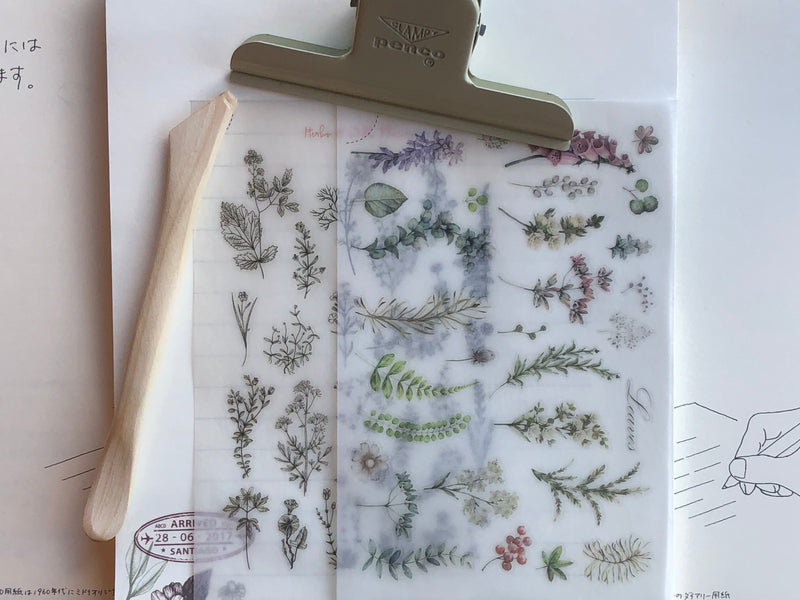 MU Print-On Stickers - Herbs and Wild Flowers - #55