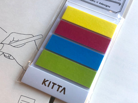 Kitta Portable Washi Tape - Plain 3