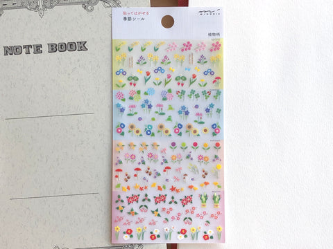 Planner Sticker - Seasonal Plants