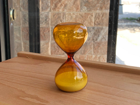 Hourglass - 5 Minutes - Yellow