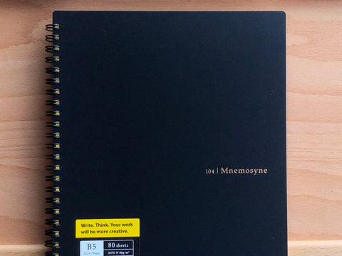 Mnemosyne Memo Notebook - B5 - Dot Grid