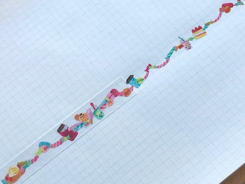 Transfer Masking Tape - Sweets Garland