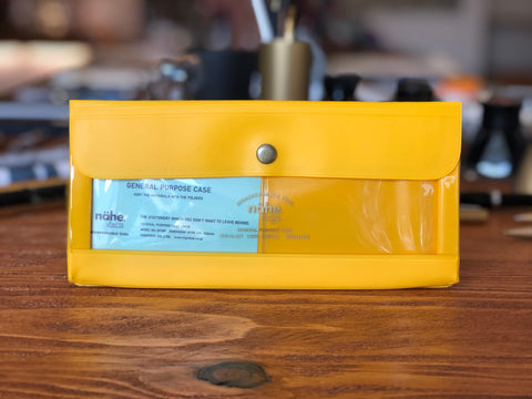 Nähe General Purpose Case - Wide - Yellow