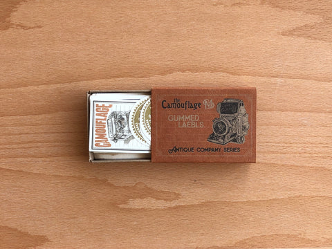 LCN Gummed Label Set - Antique Company Blank Notes