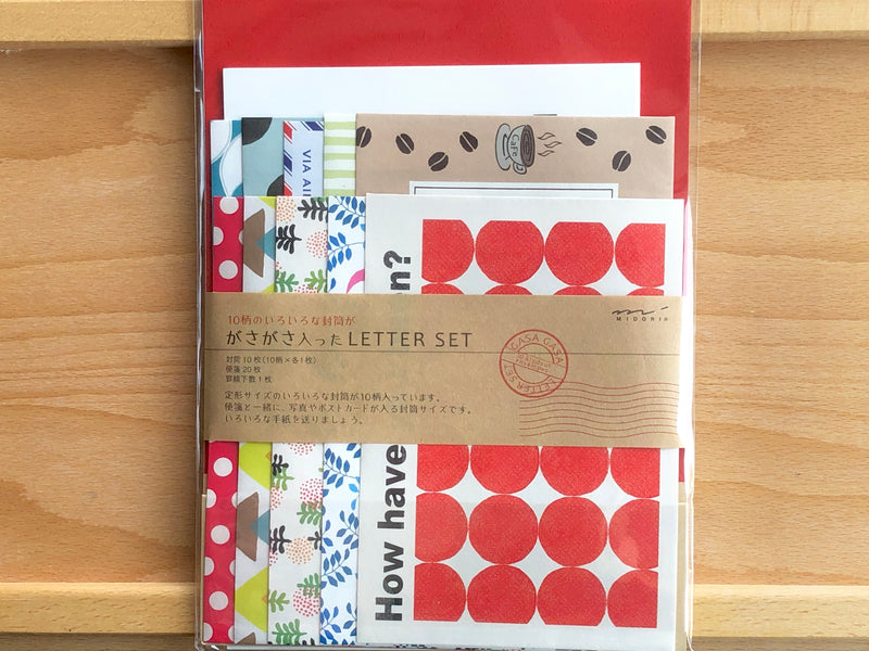 Letter Set - Life Pattern Envelopes