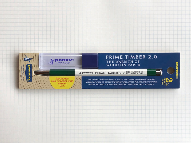 Penco Prime Timber 2.0mm Mechanical Pencil