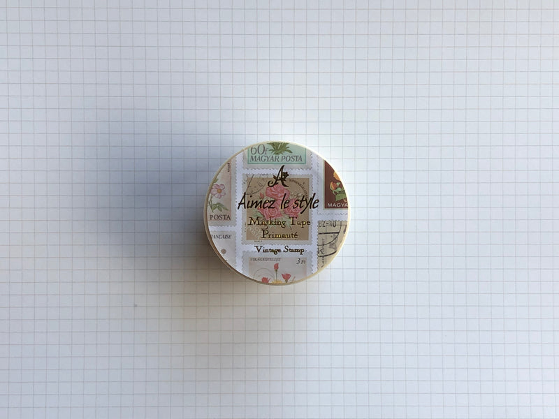 Masking Tape Washi - Vintage Stamp