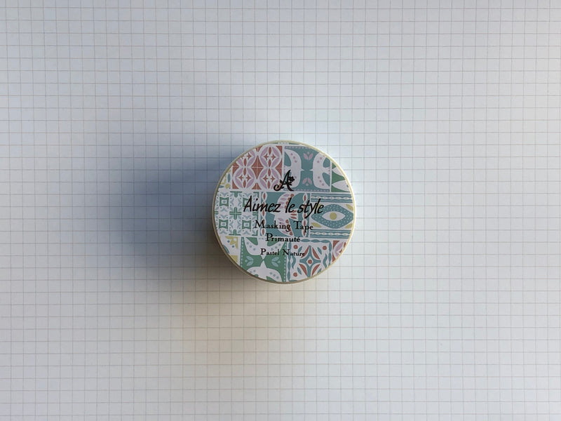 Masking Tape Washi - Pastel Nature