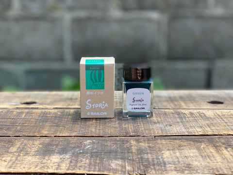 Sailor Storia Pigment Ink - 20mL - Balloon Green