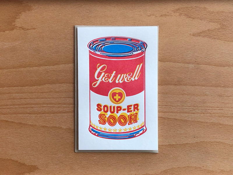 Souper Soon Greeting Card