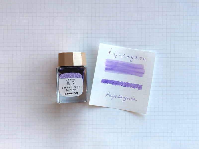 Sailor Shikiori Fuji-Sugata Ink - 20mL Bottle