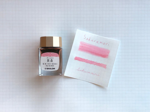 Sailor Shikiori Sakura-Mori Ink - 20mL Bottle