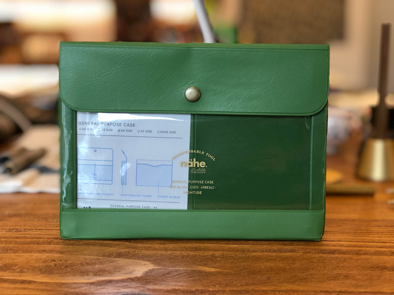 Nähe General Purpose Case - A6 - Green