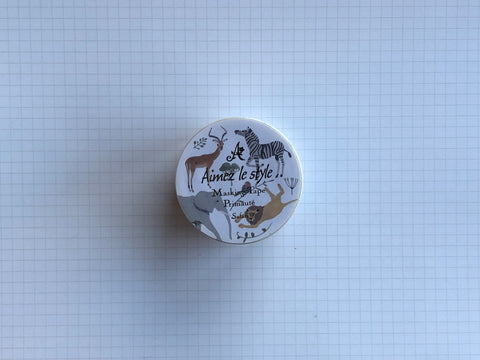 Masking Tape Washi - Safari