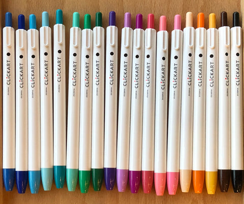 Zebra ClickArt Click Marker - Set of 36 Colors