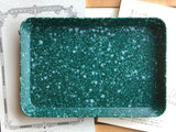 Hightide Marble Desk Tray - Medium - Green
