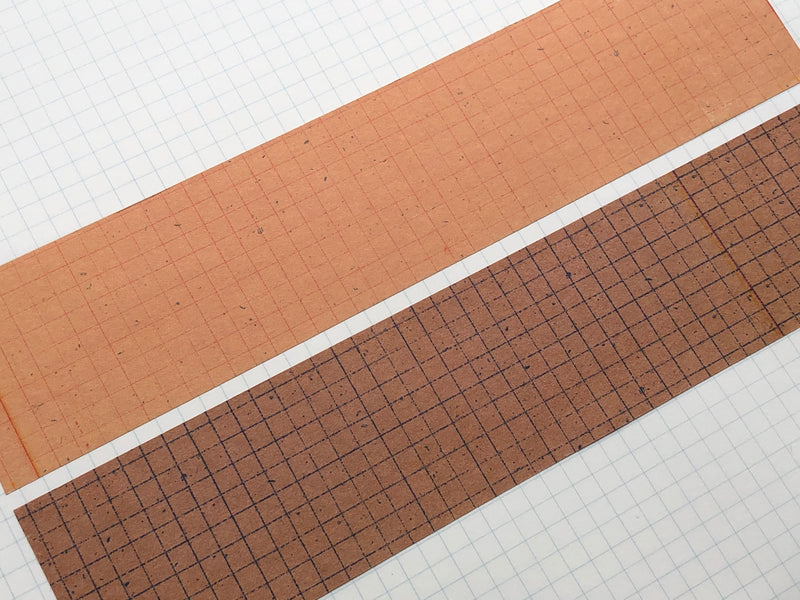Classiky - Yoko Inoue Grid 45mm Kraft Paper Tape