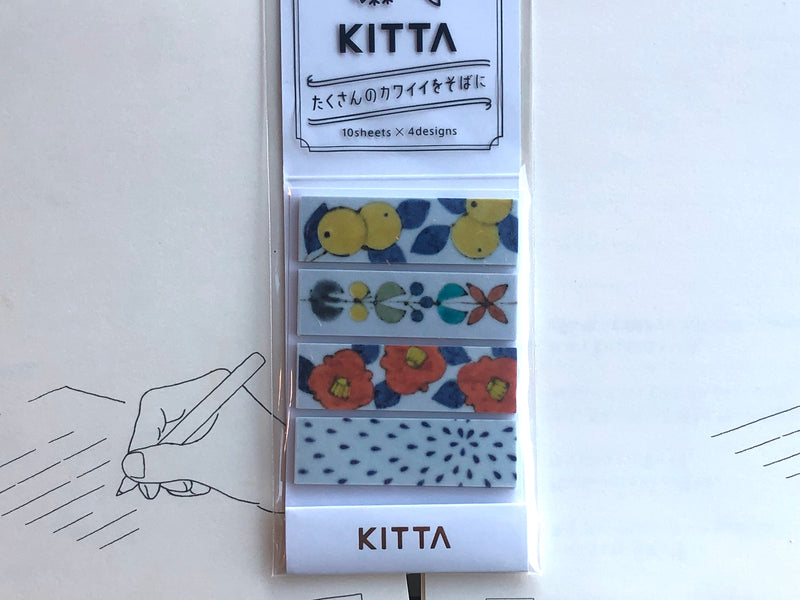 Kitta Portable Washi Tape - Plants