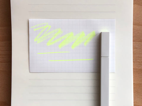 Kokuyo PASTA Soft Marker - Fluorescent Yellow