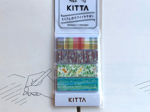 Kitta Portable Washi Tape - Picnic Time