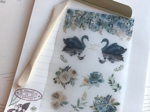 MU Print-On Stickers - Dusty Roses - #32