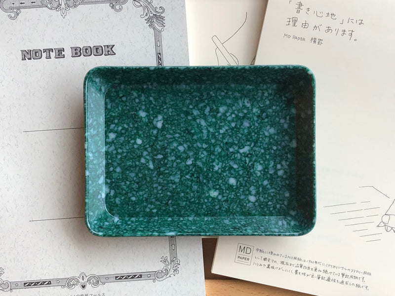 Hightide Marble Desk Tray - Small - Green