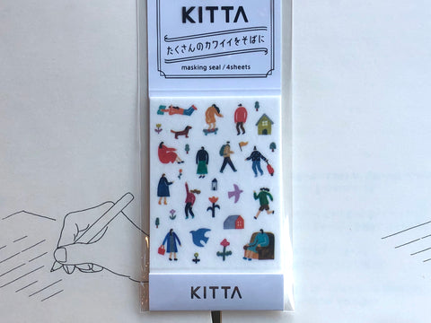 Kitta Portable Washi Tape - Icon - Town