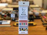 Kitta Portable Washi Tape - Cloth Pattern