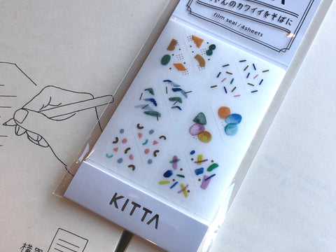 Kitta Portable Washi Tape - Card Frame - Beads
