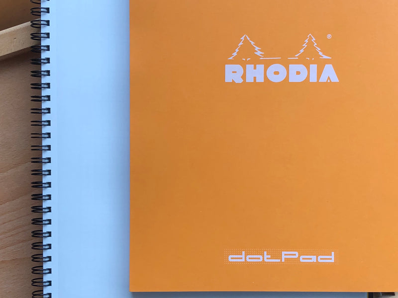 Rhodia Dot Pad - No. 18 - Orange