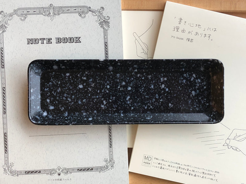 Hightide Marble Pen Tray - Black