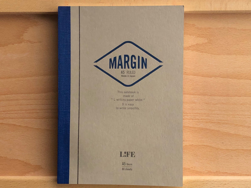 Life Margin Notebook - A5 - Ruled