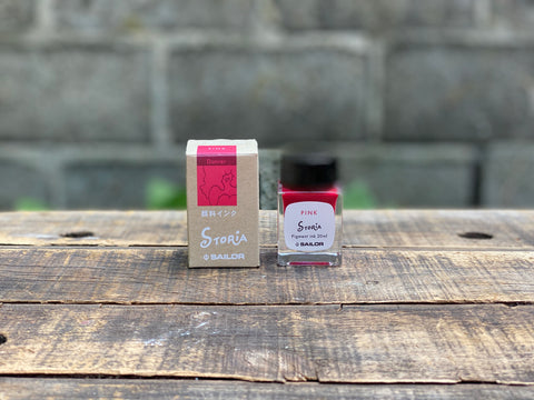Sailor Storia Pigment Ink - 20mL - Dancer Pink