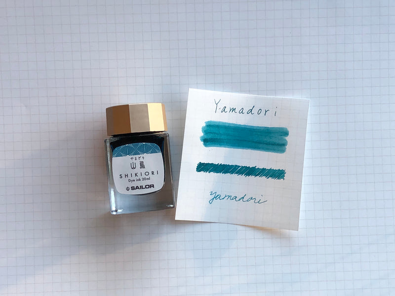 Sailor Shikiori Yama-Dori Ink - 20mL Bottle
