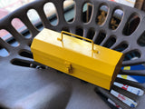 Mini Steel Toolbox - Yellow
