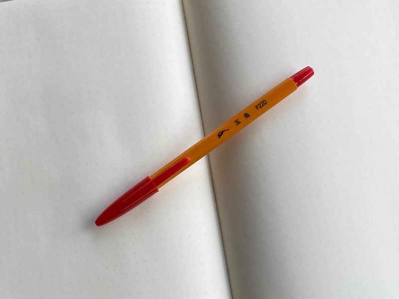 Rabbit F220 Ballpoint Pen - Red